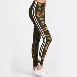 New▪️Camo Striped Leggings